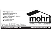 Mohr Holzhaus